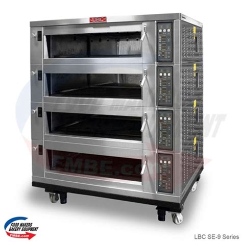lbc se  series electric deck oven