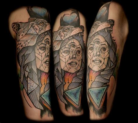 incredible wolves tattoo design  elensoul