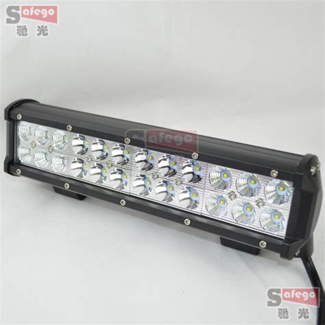 1pcs 12inch cree 72w led light bar cree 72w combo beam