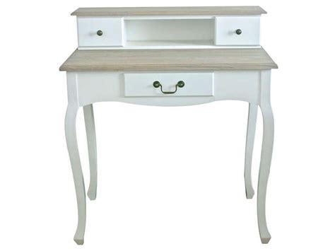 bureau conforama blanc bureau 83 cm milady coloris blanc achetezmoi com