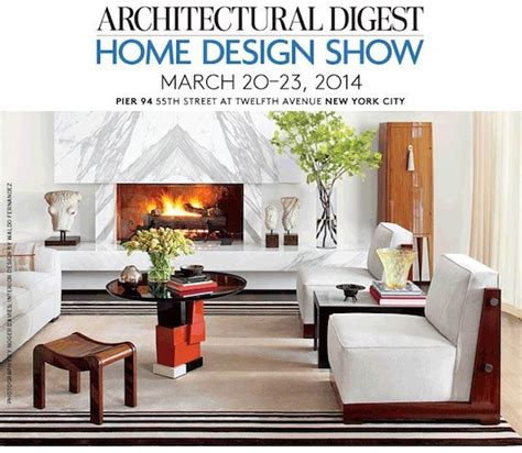 architectural digest home design show see you at the 2014 architectural digest home design show