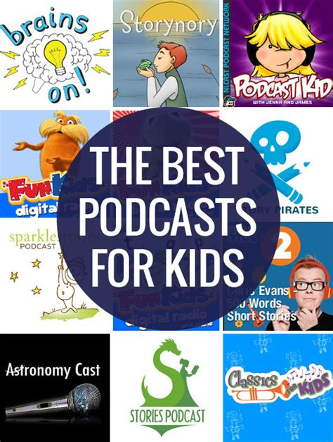 Ten Of The Best Podcasts For Kids Picklebums