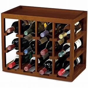Wine, Enthusiast, 12, Bottle, Cube-stack, Wine, Rack, -, Walmart, Com