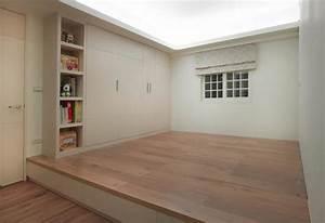 Lit Petit Espace : petit appartement aux lits gagne place design feria ~ Premium-room.com Idées de Décoration