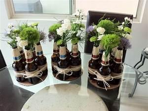 Tischdeko Zum Geburtstag : schnelle rustikale tischdeko fiesta de cerveza decoracion cumplea os adultos y fiesta ~ Watch28wear.com Haus und Dekorationen