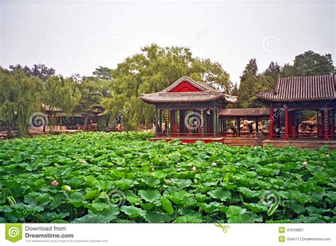 Chinesischer Garten Im Sommerpalast, Peking, China