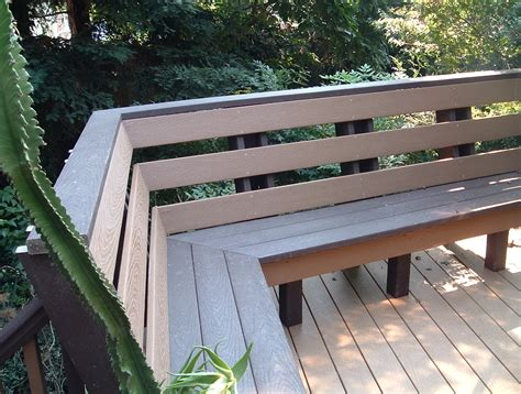 decking awesome deck benches seating ideas tvhighwayorg