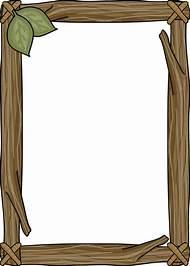 Wood Frame Border Clip Art