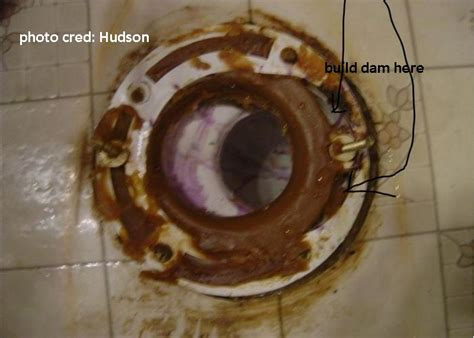 install  wax ring   toilet   offset flange