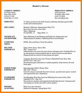 undergraduate student cv example c45ualwork999org With curriculum vitae examples for students
