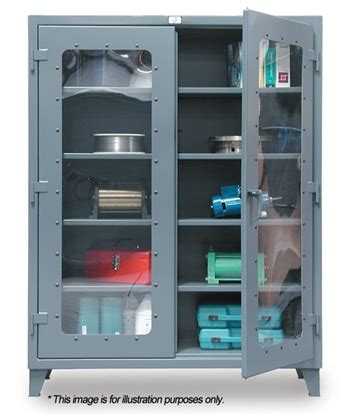Garage Cabinets Lowest Price by 56 Ld 244 Strong Hold See Thru Door Storage Cabinet