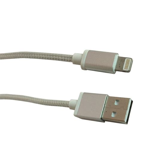iphone 5 charging cable storite iphone 5 charging data cable silver 1 5 m all