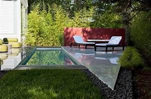 Petit Jardin Moderne : fontaine et bassin aquatique pour jardin paysager moderne ~ Dode.kayakingforconservation.com Idées de Décoration