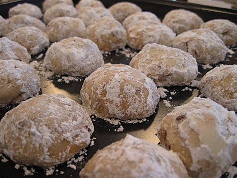 boules de neige aux noix de p 233 can biscuits pecans and articles