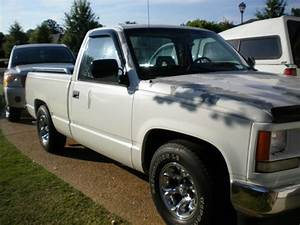 Purchase Used 1994 Gmc Truck 1500 V6 Automatic White In Canton  Mississippi  United States