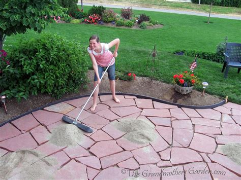 flagstone patio home exterior design ideas