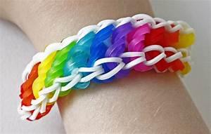 Bracelet Avec Elastique : tuto bracelet lastique torsad rotini arc en ciel rainbow loom en fran ais youtube ~ Melissatoandfro.com Idées de Décoration