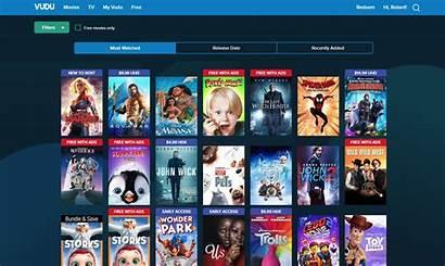 Vudu Demand Streaming Movies Netflix Tv Service