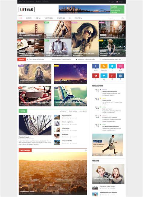 responsive joomla template file 15 best blog magazine responsive joomla themes
