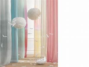 Rideau Bleu Pastel : rideau ton claire rideau pastel archives le march du rideau ~ Teatrodelosmanantiales.com Idées de Décoration