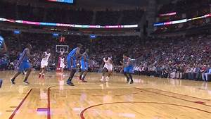 James Harden dunk on Serge Ibaka - YouTube
