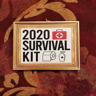 survival kit toilet paper covid corona christmas