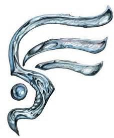 Water Element Symbol Tattoo