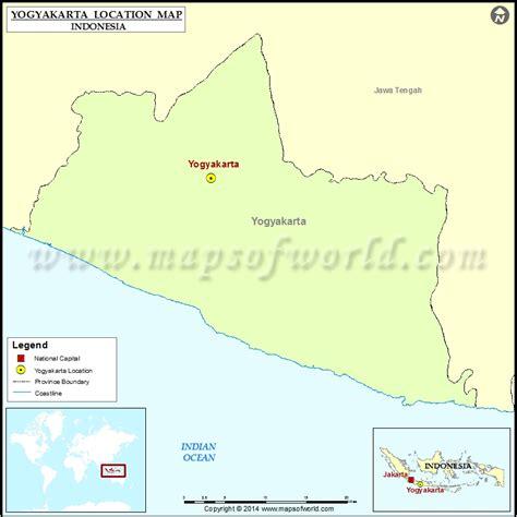 yogyakarta location  yogyakarta  indonesia map