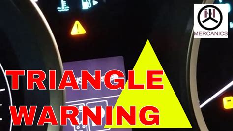 triangle warning light irritate