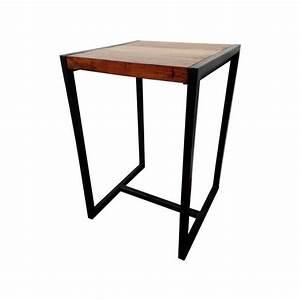 Table Haute Bois Metal : location table haute metal et bois 126 events ~ Teatrodelosmanantiales.com Idées de Décoration