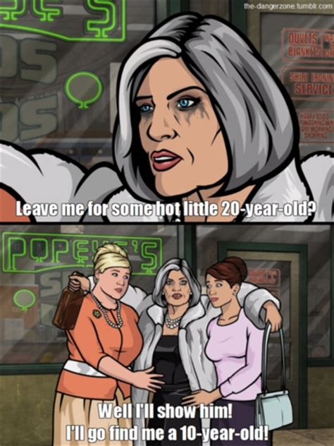 Sterling Archer Meme - malory archer awesomeness pinterest danger zone archer quotes and archer fx