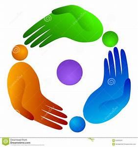 Rotation People Hand Stock Image