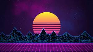 Synthwave - Neon 80's - Background – Rafaël De Jongh