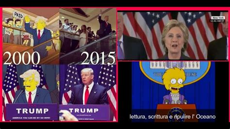 The Simpsons and Donald Trump