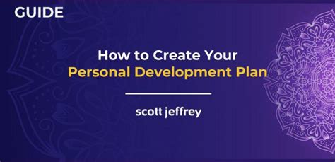 personal development plan  definitive step  step process