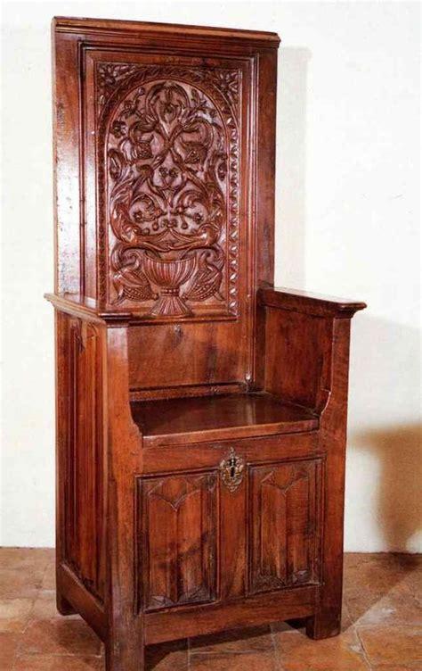 chaise du moyen age merveilleux chaise du moyen age 3 chaire à haut dossier