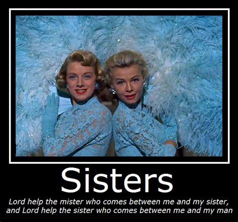 White Christmas Meme - white christmas sisters by masterof4elements on deviantart