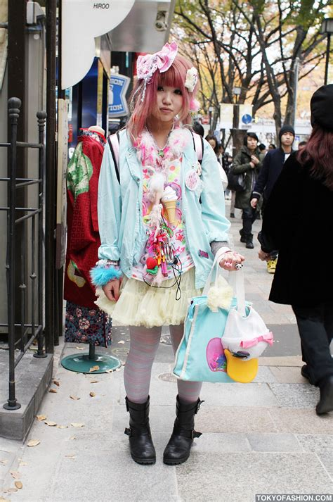 kei fashion in harajuku