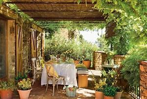 Gartengestaltung Toskana Stil : un exterior para disfrutar todo el a o ~ Articles-book.com Haus und Dekorationen