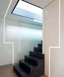 Eclairage Led En Ruban : ruban led encastrable ou suspendu de design italien id es ~ Premium-room.com Idées de Décoration