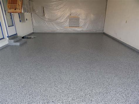 garage floor paint flakes epoxy flake garage floor coating columbus ohio