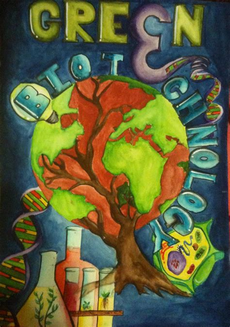 artworld poster competitiongreen biotechnology