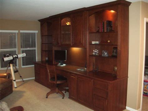 kitchen cabinets for home office custom home office cabinets in southern california 8033