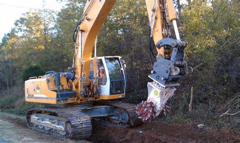antraquip aq    excavator rock grinder  sale