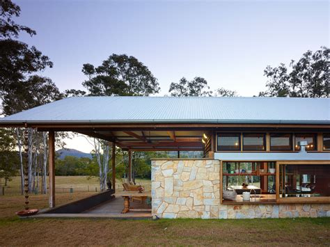 modern rural architecture australia hinterland house captures the spirit of rural australian style