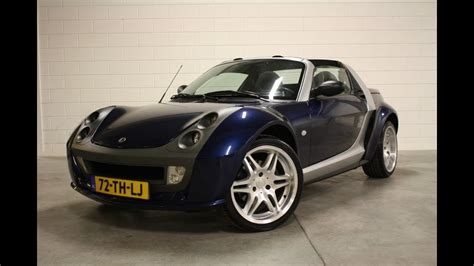 smart roadster brabus  automaat  occasion youtube