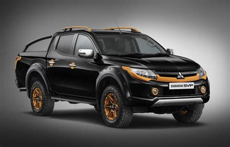 mitsubishi special vehicle projects develops tough triton