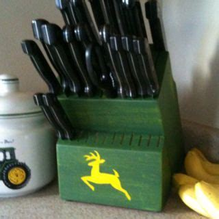Deere Kitchen Knife Set by Deere Knife Block And Cookie Jar Because I M Pretty