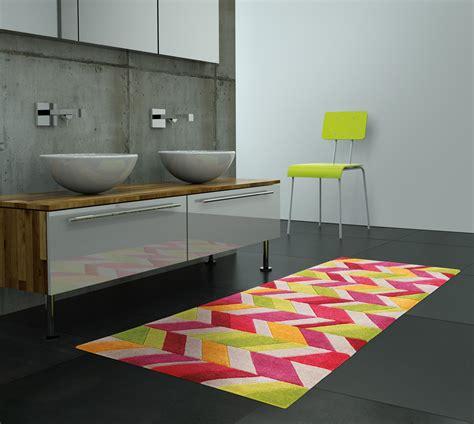 tapis cuisine antiderapant lavable tapis de salle de bain colorado par arte espina