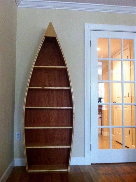 wooden boat book case shelves boat shelf bookcase